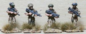 OSP01 British Fireteam 1 in Osprey Armou