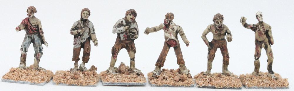 ZOM01 TDSC12 Ragged Shambler Zombies