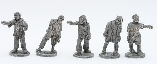 ZOM11 Modern Shambler Zombies set B