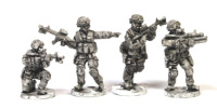 DEL02 1990's Delta Force fireteam