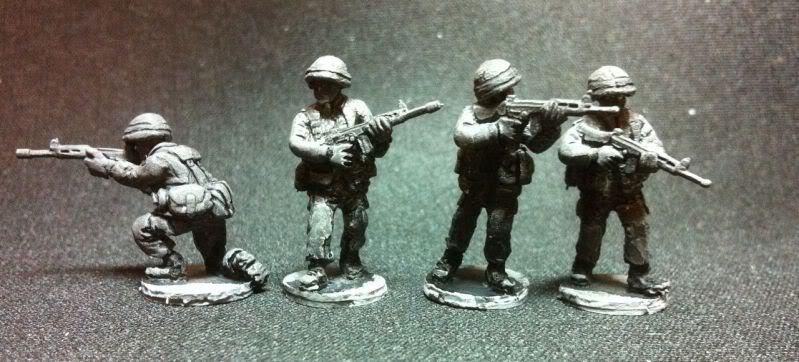 NAT05 NATO FN FAL riflemen
