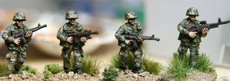 ALC01 Early Cold War US Patrol fire team