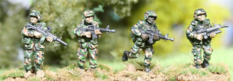 PAS01 PASGT US ARMY Patrol fire team