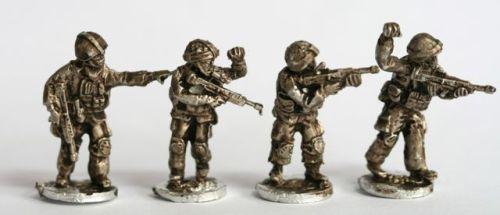 OSP05 British Osprey NCO type figures