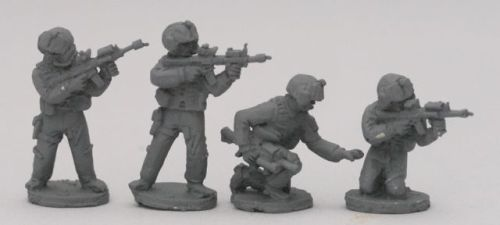 OBJ06 Helicopter aircrew pilots skirmishing