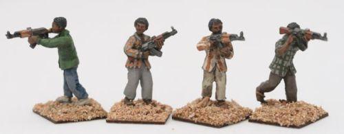 SOM03 Somali skirmishing with AK47s
