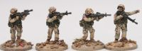 RAM01 1990's US Ranger Fireteam 1 skirmish poses