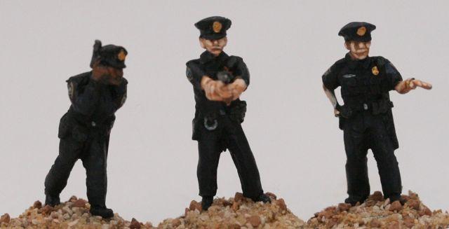 COP03 US Cops with peaked caps