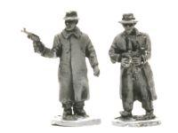 NKVD01 NKVD in trench coats and hats.