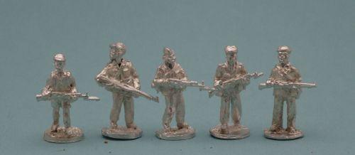 TRB08 African Militia vintage Rifles