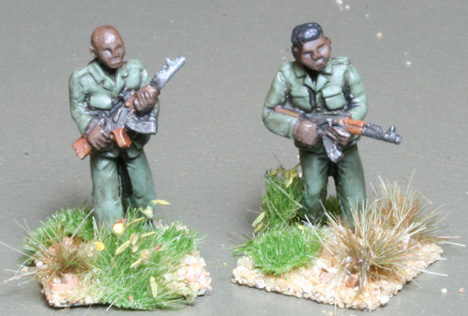 TRB03 Africans in basic uniform and AK47s