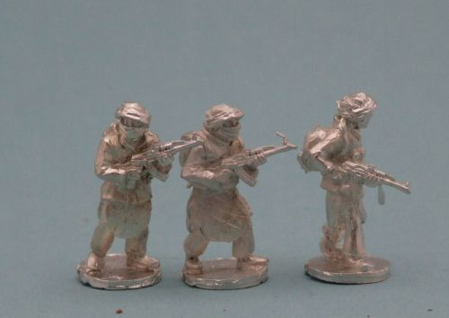 TAL24 Tier 1 Talib with AK47s standing patrol poses