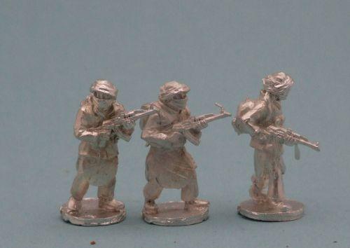 TAL24 Tier 1 Talib with AK47s standing patrol poses