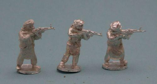 TAL22 Tier 1 Talib with AK47s standing skirmishing set A
