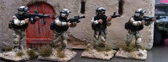 IBA03 US Fireteam M16A2 skirmish