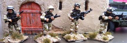 IBA11 US Fireteam with M240b
