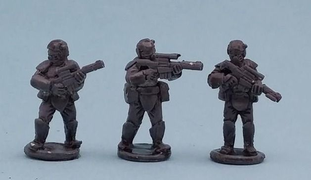 FCCT02 Armoured Fed Troopers with PT89 'Thumper' Rifles