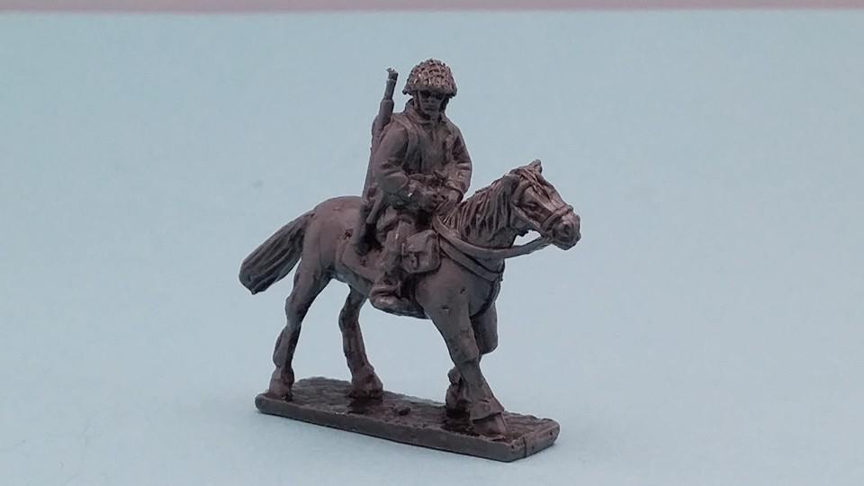 UPN13 US Para Dispatch rider on horse