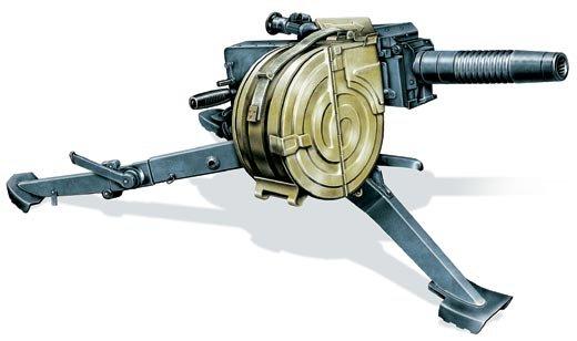 GUN31 Soviet ASG17 Automatic Grenade launcher