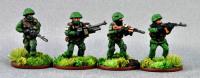 RUS01 Modern Russian fireteam 3x AK74M 1x PKM set A