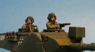 BW06 West German Tank Crew half figures
