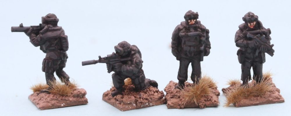 SFP02 Polish Special Forces FORMOZA frogmen with Mp5s