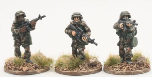 PAS02 PASGT US ARMY/USMC with M16A1s