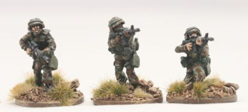 PAS03 PASGT US ARMY/USMC with M16A2s