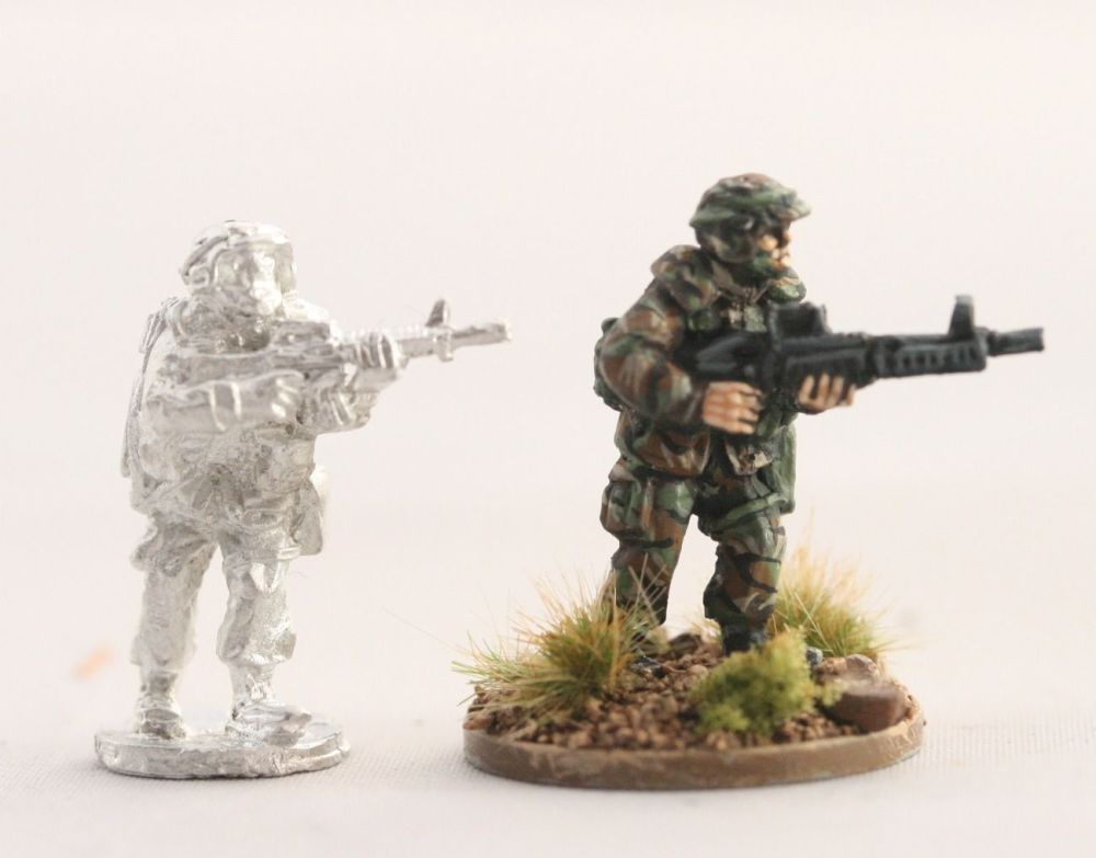 PAS15 PASGT US ARMY/USMC with M60 moving and M16A2 no2