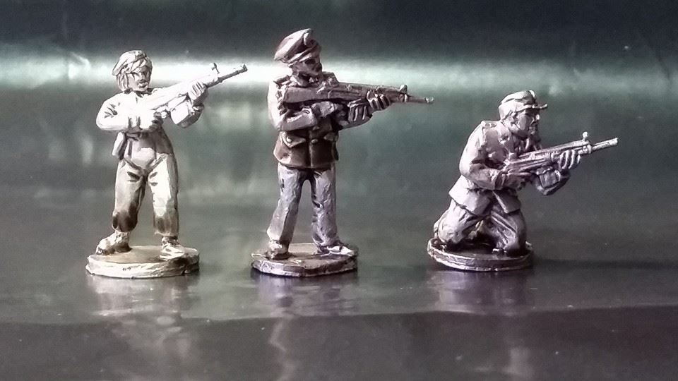 WGP02 West German Police Skirmish set A