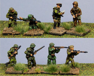 RALS06 Red Army Scouts with a mix of weapons