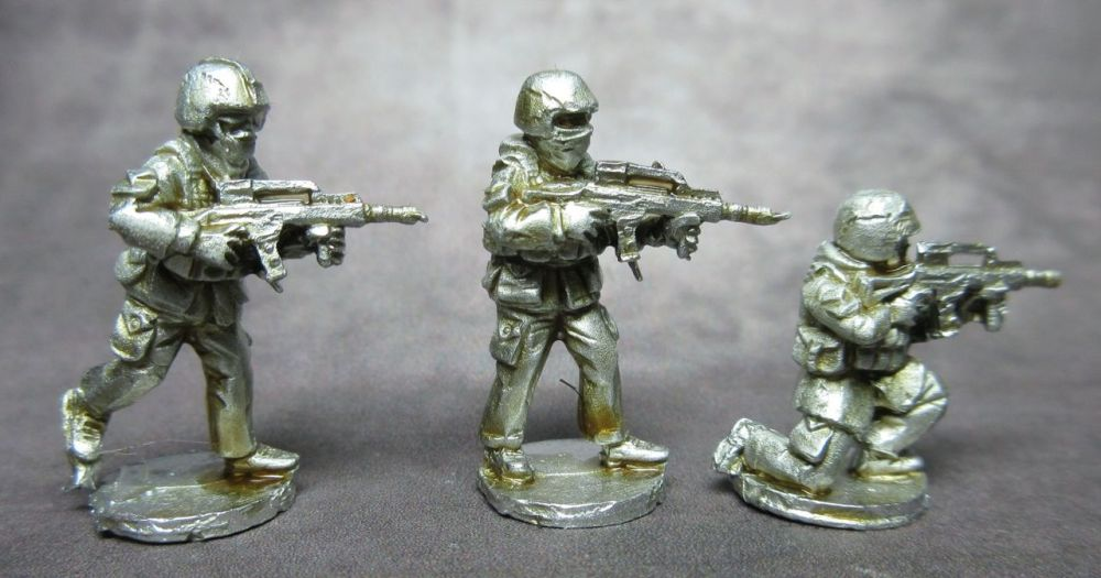 MG03 Modern German Riflemen with G36 skirmish poses