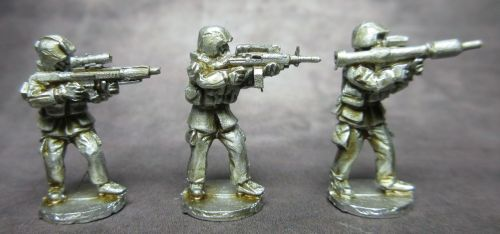 MG04 Modern German with support weapons.