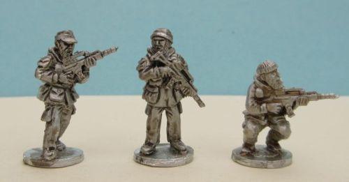 KSK02 Modern German KSK Special Forces in soft hats armed with G36