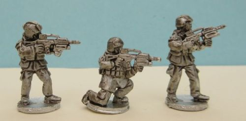 MG06 Modern German G36 and fixed Grenade launchers.