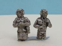 DDR20 East German Tank crew-  half figures