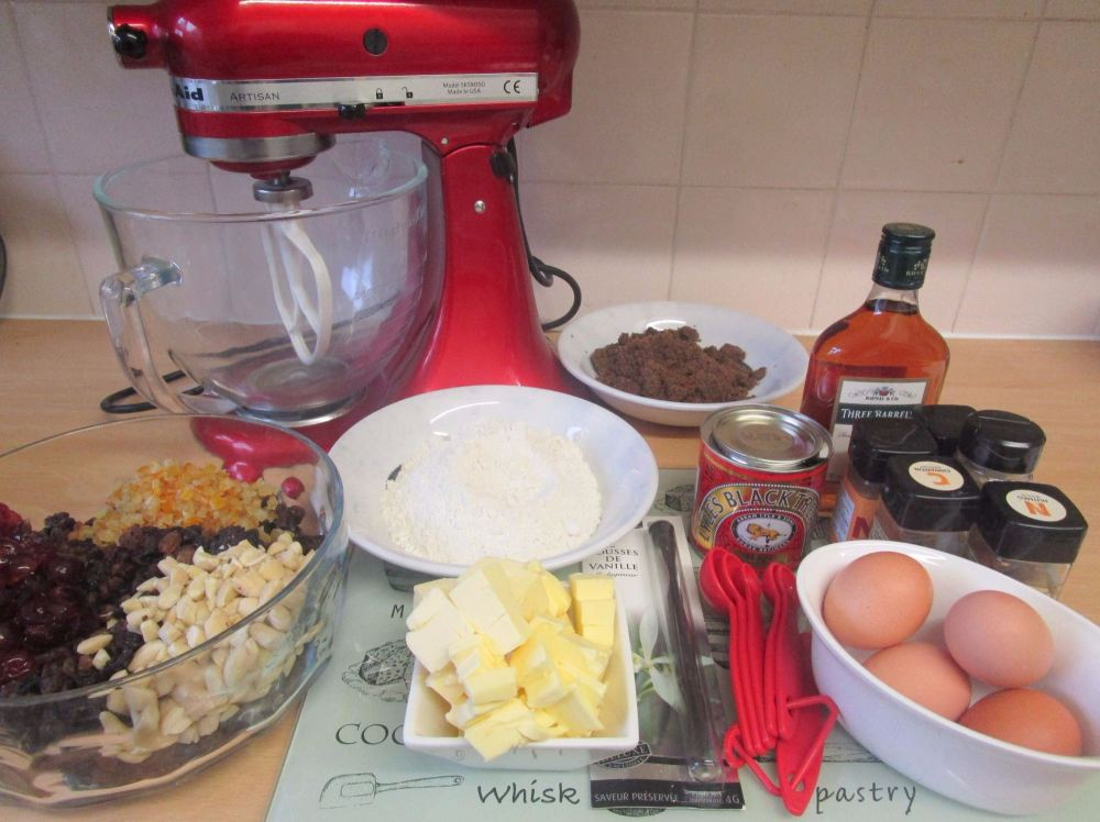 blog christmas cake ingredients