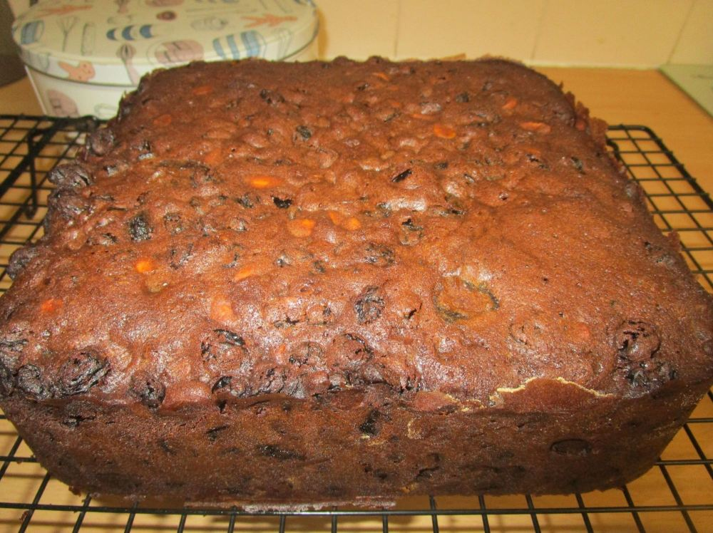 blog christmas cake cooked 1