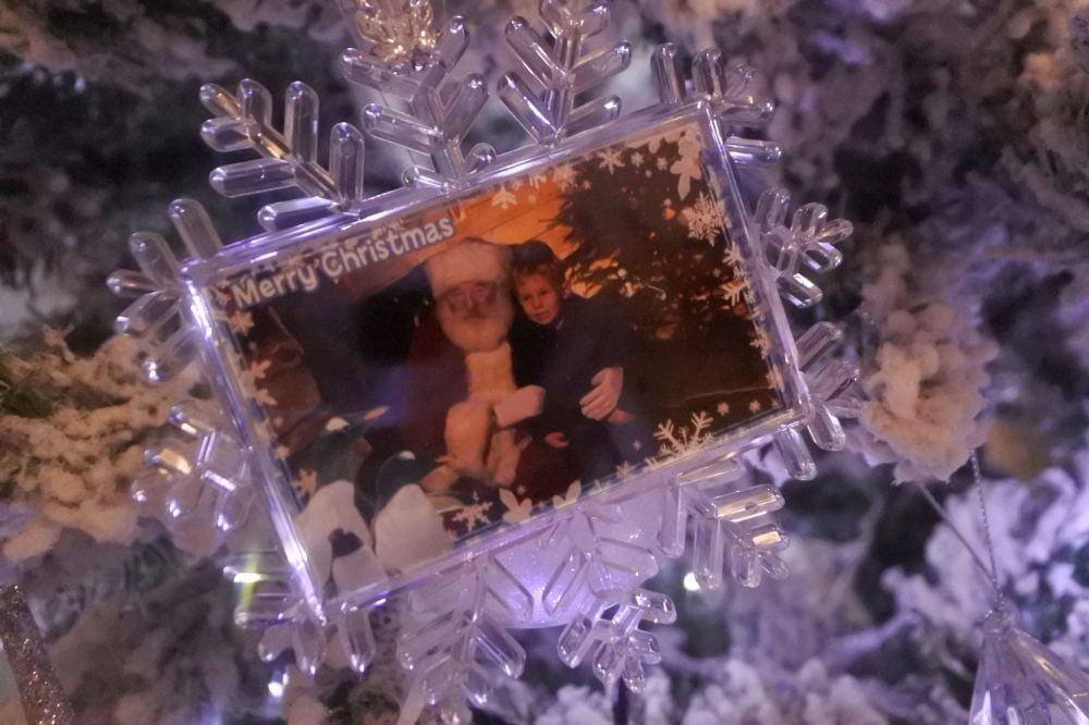 seaife santa snowflake