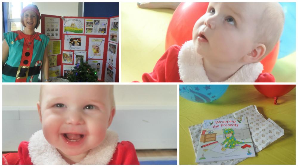 fotor baby sensory xmas