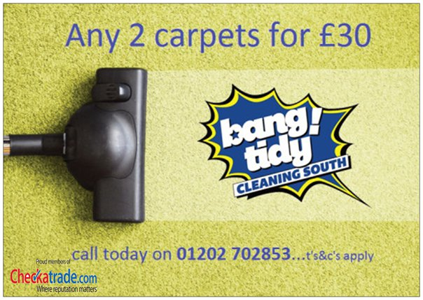 bang tidy carpets
