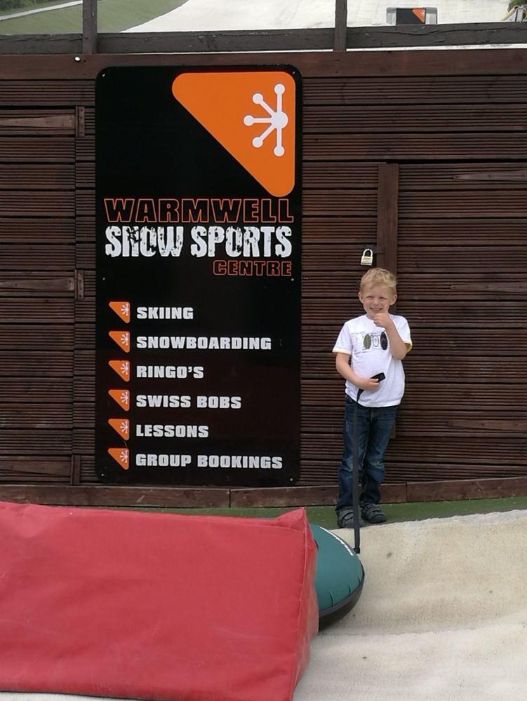 Warmwell Snowsports Centre Mini Ringo Review Blog