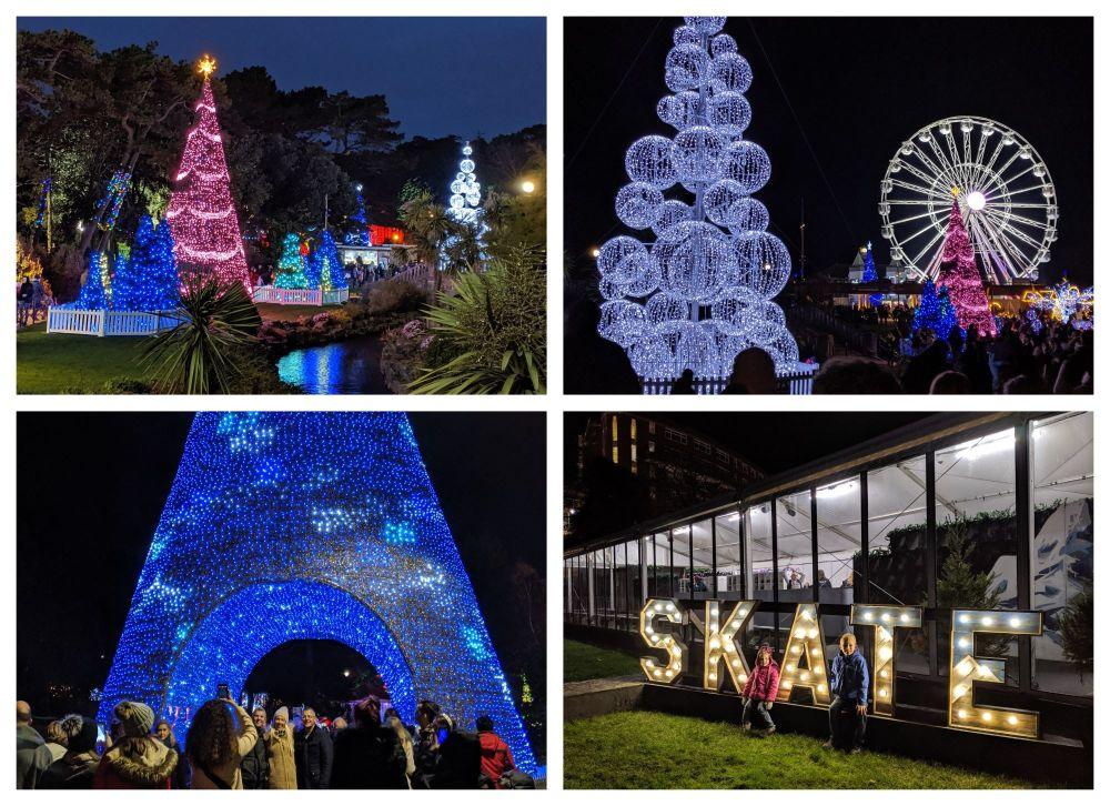 Collage SKATE Christmas 2