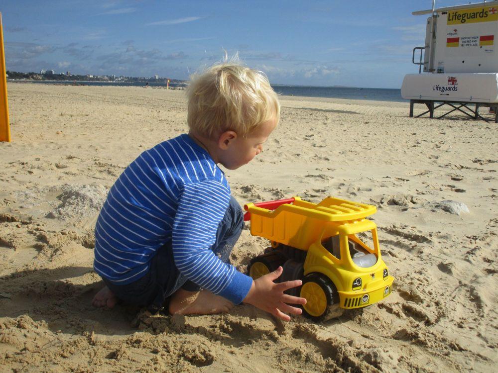 Sam digger beach