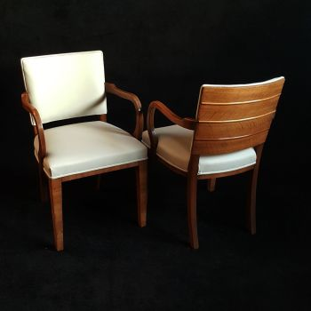 Good Art Deco armchair.