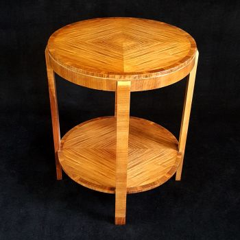 RESERVED Fine Art Deco walnut occasional table