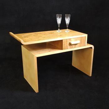Superb Art Deco side table by Fortnum & Mason
