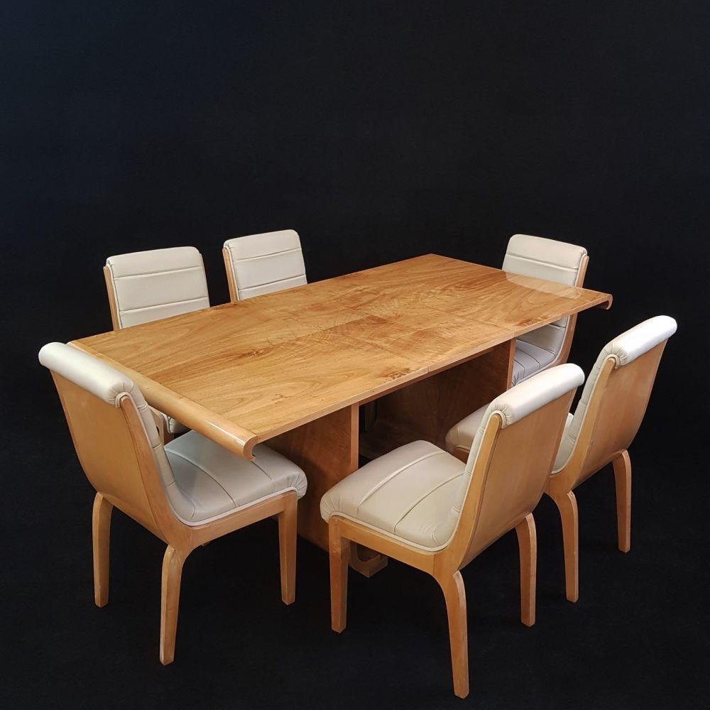 Art Deco dining suite by Fortnum & Mason