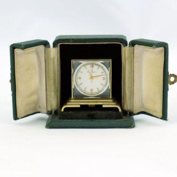 Art Deco cased miniature clock