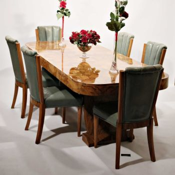 Fine Art Deco Dining Suite by Hille